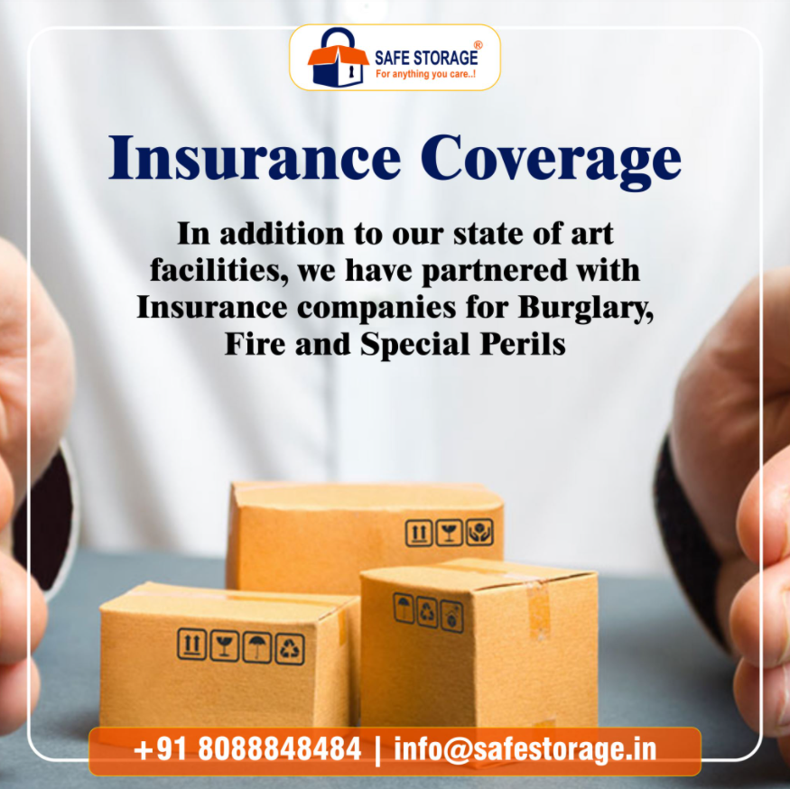 Storage space with Insurance coverage and cost effective