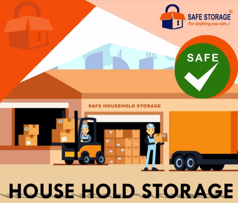 Store your household items safely