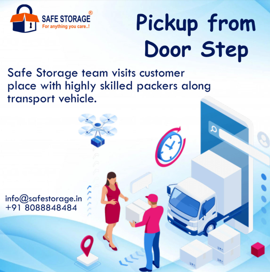 collecting belongings from your doorstep save your time